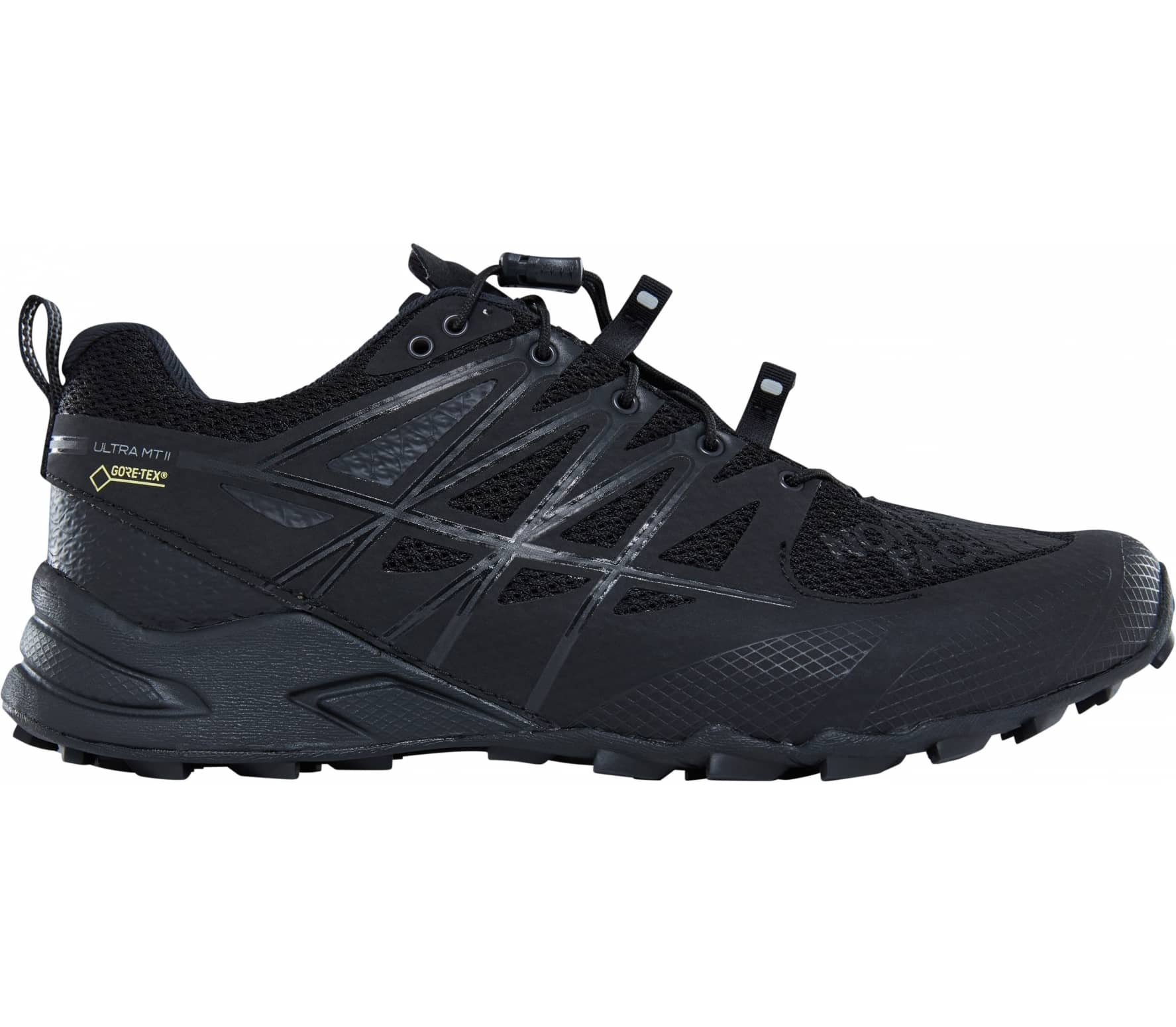 The North Face - Ultra Mt II GTX women s trail running shoes (black) 065fbf52092
