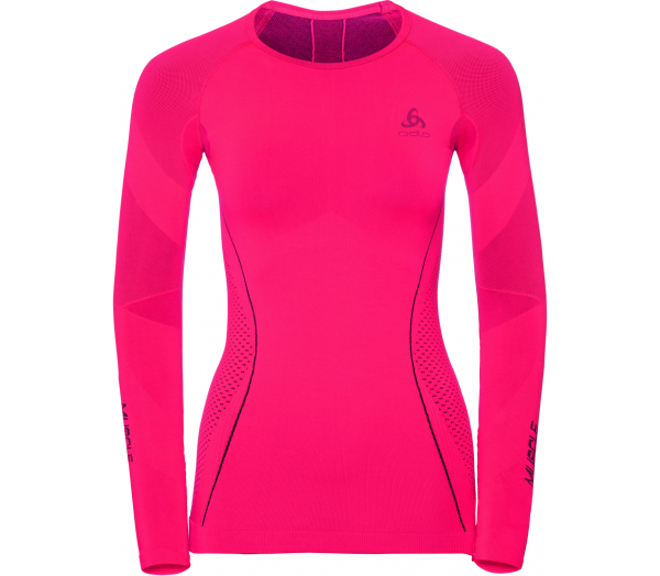 ODLO Performance Muscle Force Warm Women Running Long Sleeve - 1