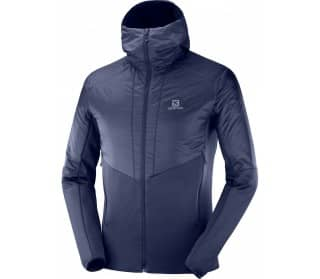 Outline Warm Men Fleece Jacket