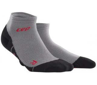 CEP Dynamic+ Outdoor Light Merino Low-Cut Hommes argenté