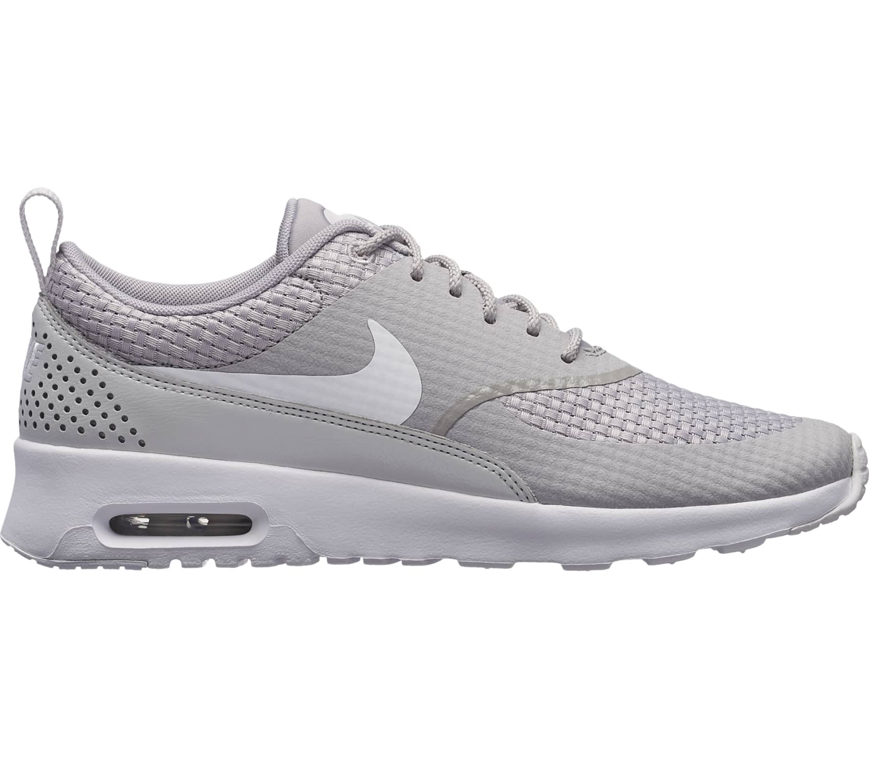 premium selection abfb8 275ff Nike - Air Max Thea Premium women s running shoes (light grey white)