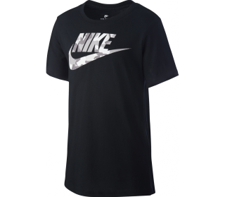 Nike Icon Futura Camo Junior Trainingsshirt Kinder schwarz