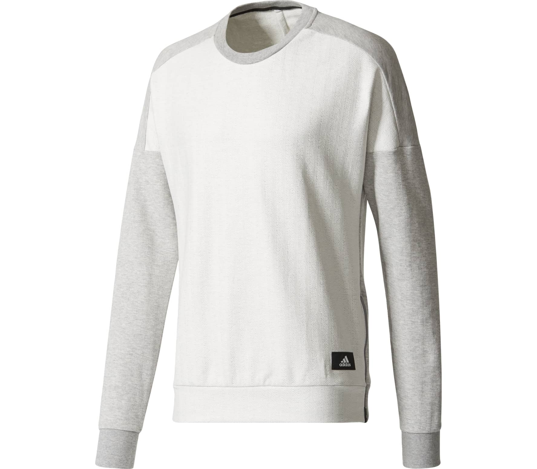 look out for pretty nice crazy price adidas ID Laminated Crew men's training sweatshirt Herren