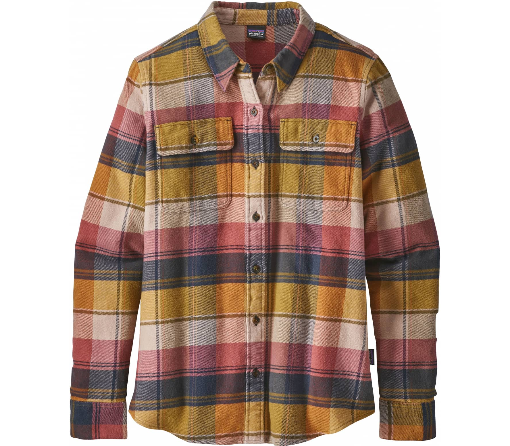 Patagonia - Fjord women's flannel top (multicoloured)