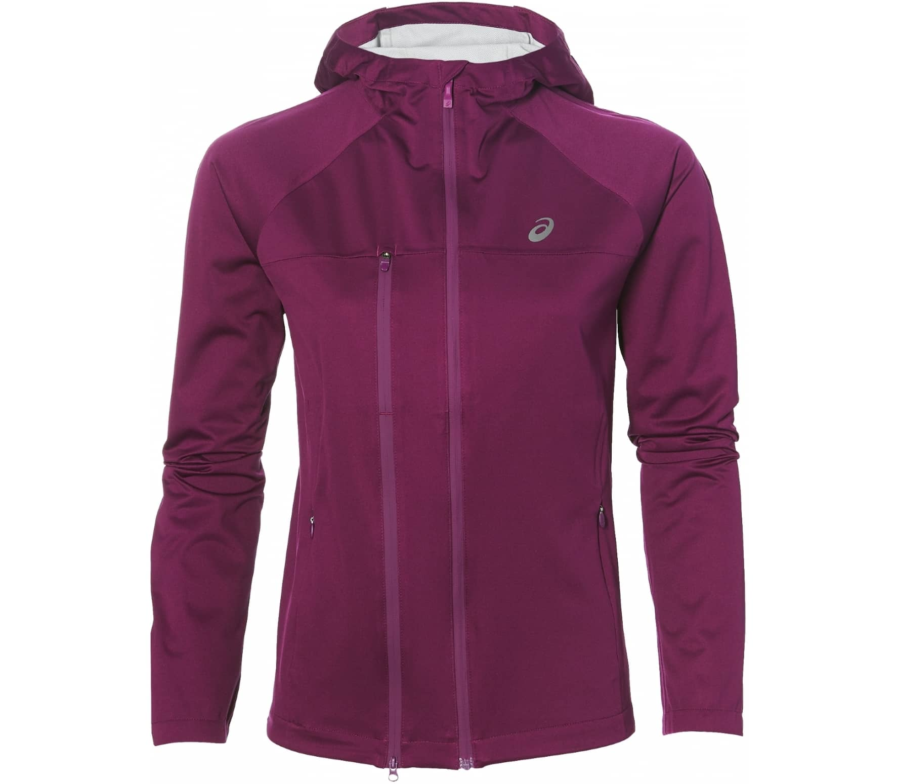 Asics - Accelerate women's running jacket (dark red) - XS thumbnail