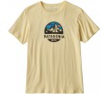 Patagonia - Fitz Roy Scope Organic Herren T-Shirt (gelb)
