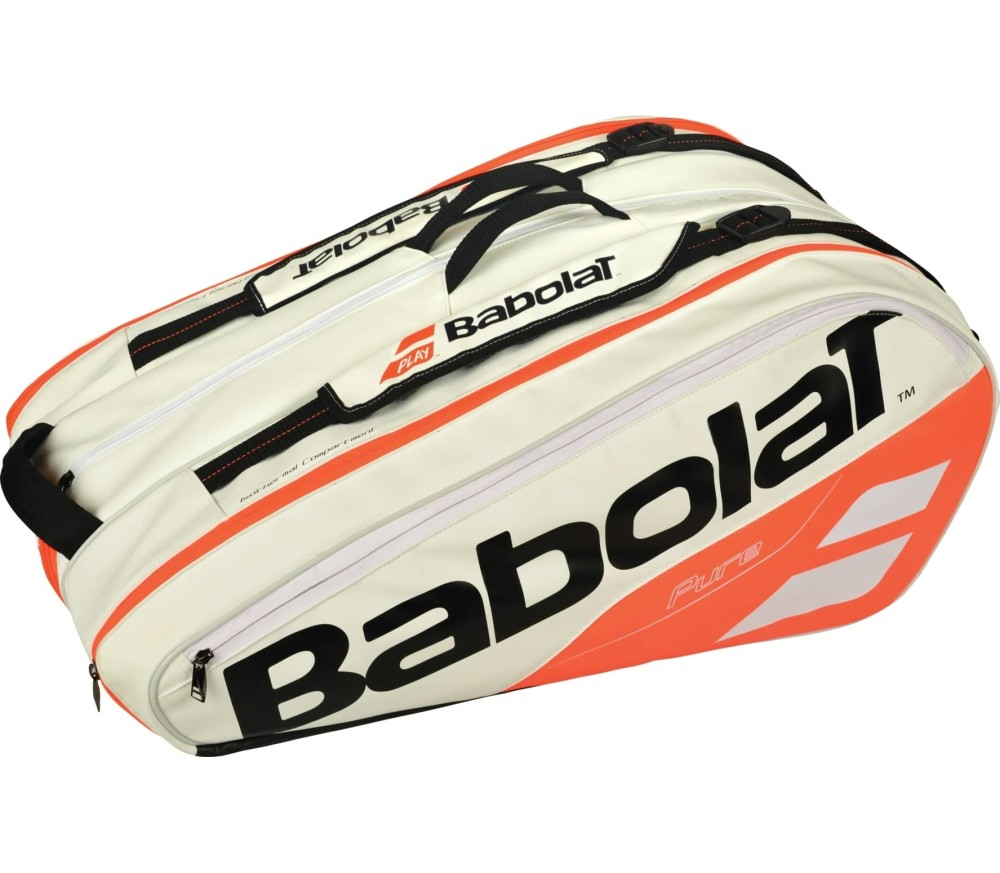 Babolat - Pure Racket Holder X12 tennis bag (white/red)