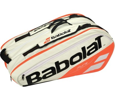 Babolat - Pure Racket Holder X12 Tennistasche (weiß/rot)