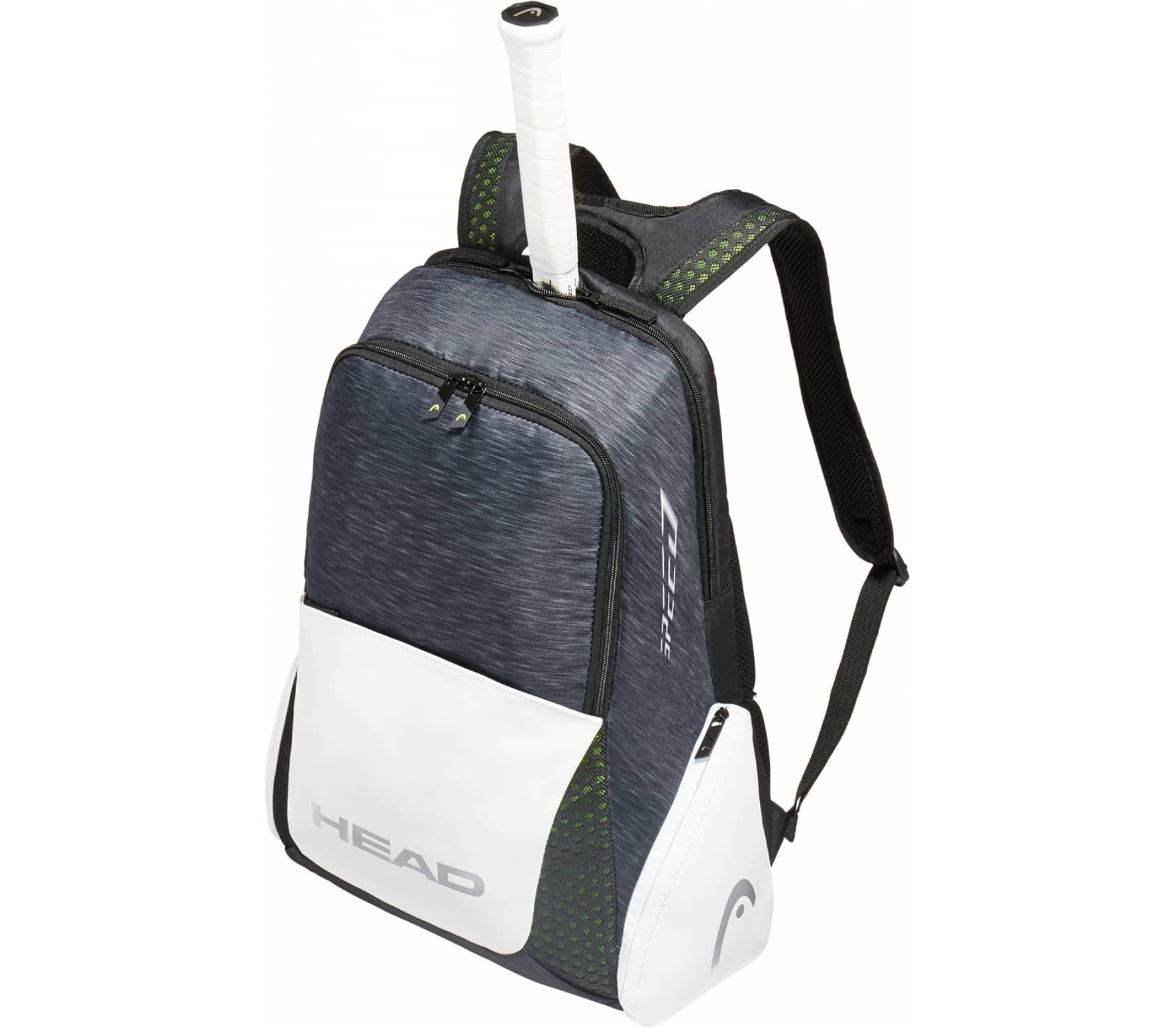 Head Tennis Bag >> Head - Djokovic backpack tennis backpack (black) - buy it at the Keller Sports online shop
