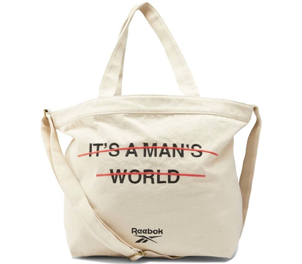 It's A Men's World Unisex Schultertasche