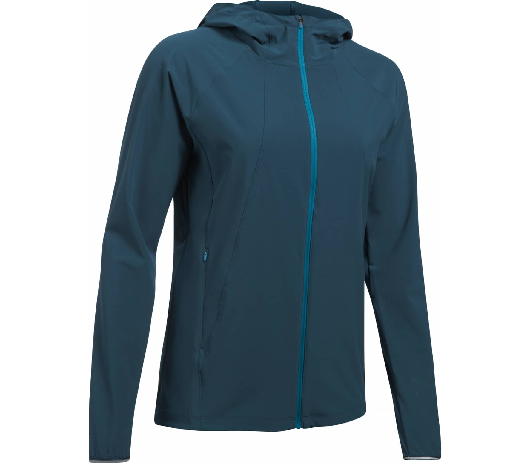 Under Armour - Outrun The Storm women's running jacket (blue) - XS thumbnail