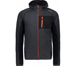 Fix Hood Men Fleece Jacket