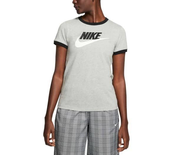 NIKE SPORTSWEAR Black Women T-Shirt - 1