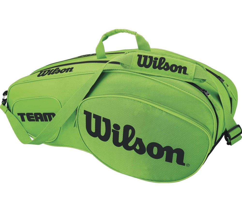 Wilson - Team III 6 Pack tennis bag (green/black)