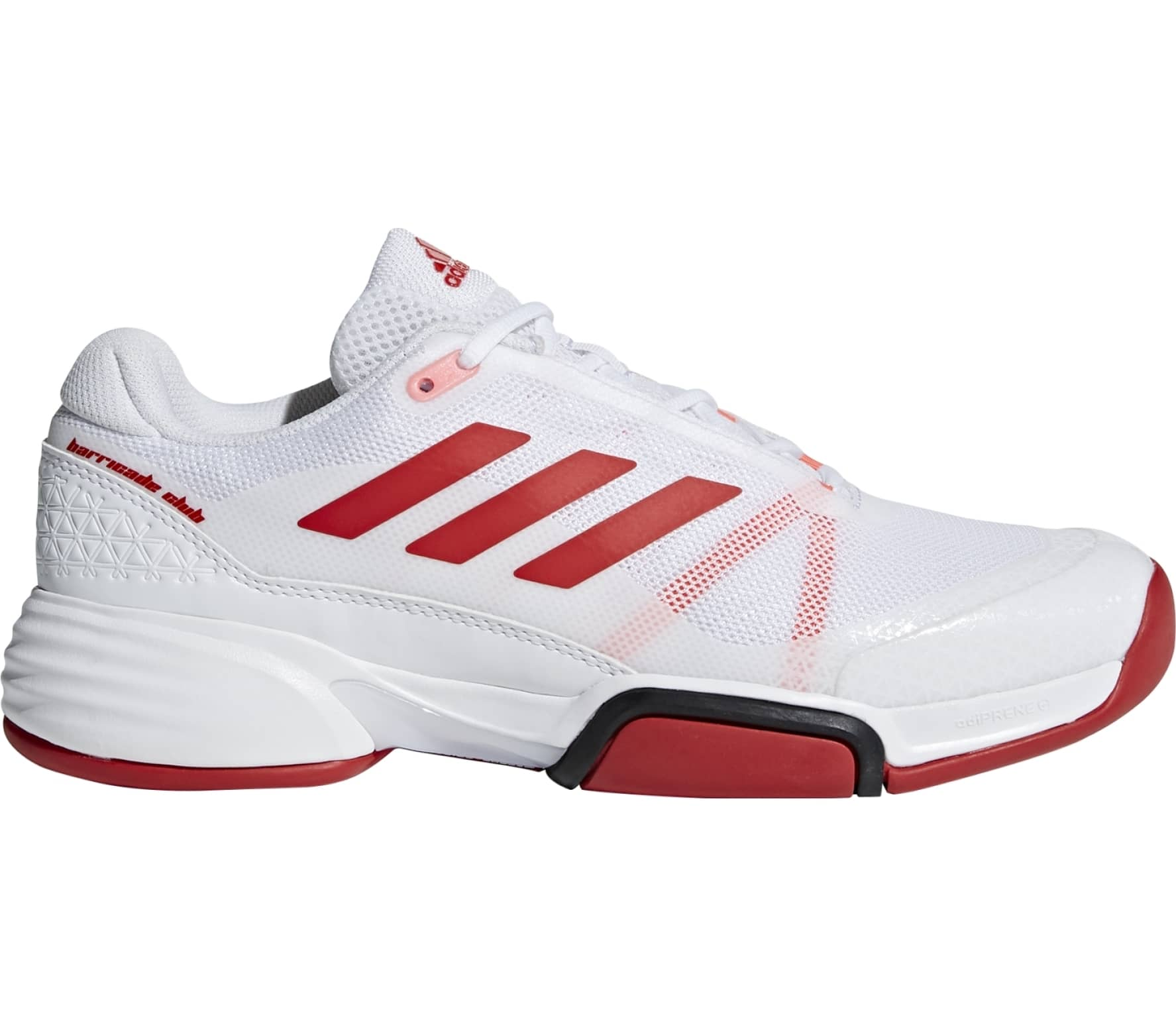adidas performance - Barricade Club Carpet men s tennis shoes (white ... 3358d0258