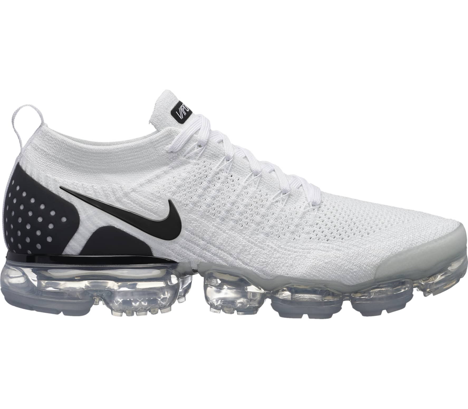 check out 6e115 bea79 Nike - Air VaporMax Flyknit 2 men s running shoes (white black)