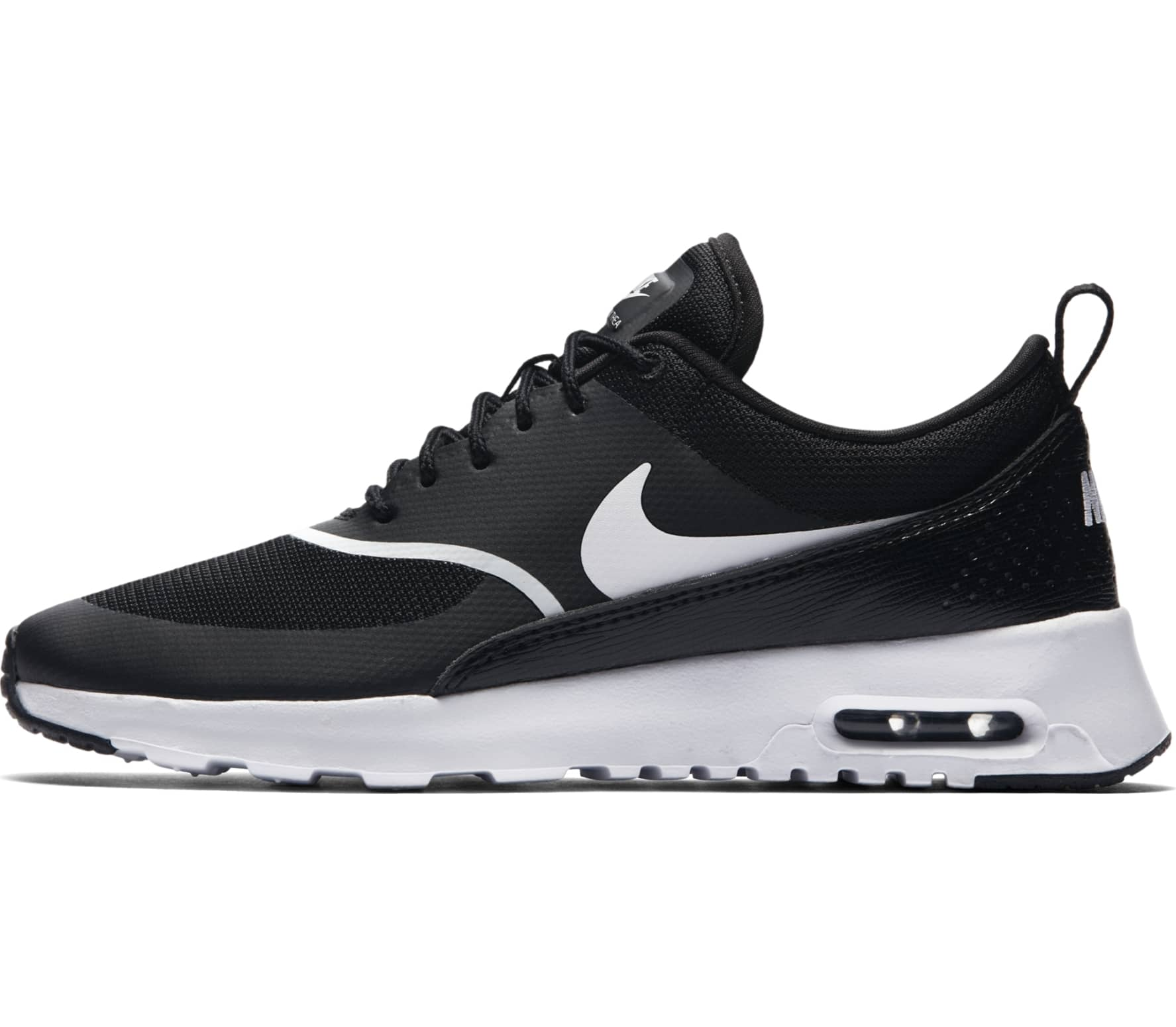 nike air max thea damen laufschuh schwarz wei im. Black Bedroom Furniture Sets. Home Design Ideas