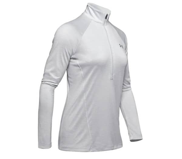 UNDER ARMOUR Tech 1/2 Zip - Twist Femmes T-shirt à manches longues fonctionnel - 1