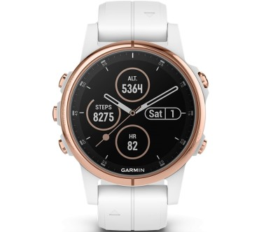 Garmin - Fenix 5S Plus outdoor watch (white)