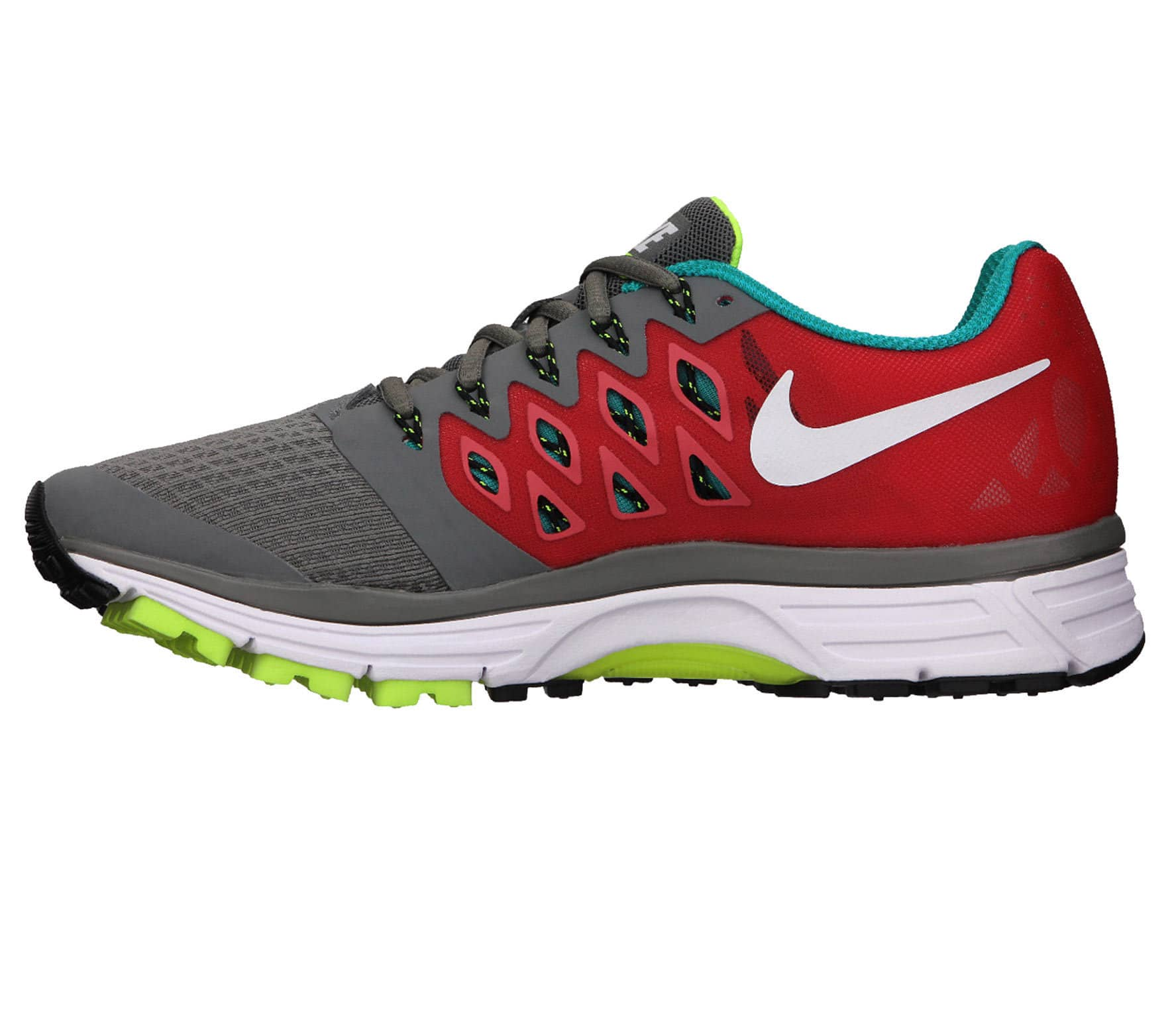 pick up more photos discount shop Nike - Zoom Vomero 9 women's running shoes (grey/green)