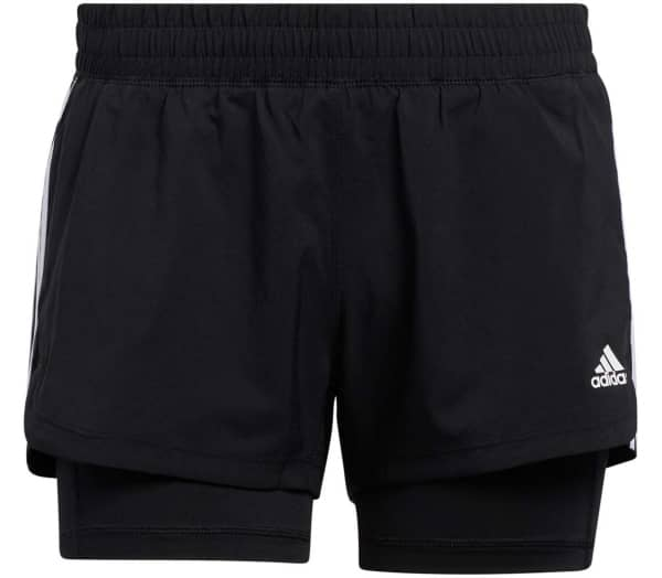 ADIDAS Pacer 3-Stripes 2 In 1 Women Training Shorts - 1