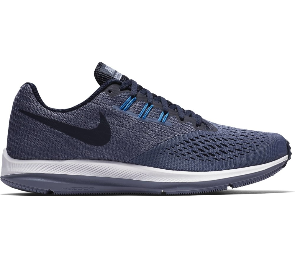 947acbad152e Nike - Air Zoom Winflo 4 men s running shoes (dark blue) - buy it at ...