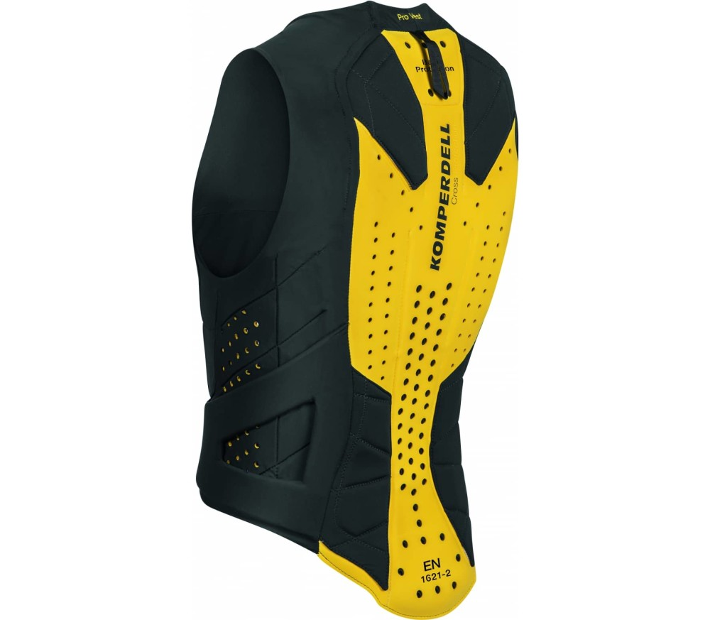 Komperdell - Pro Vest men's protector vest (black/yellow)