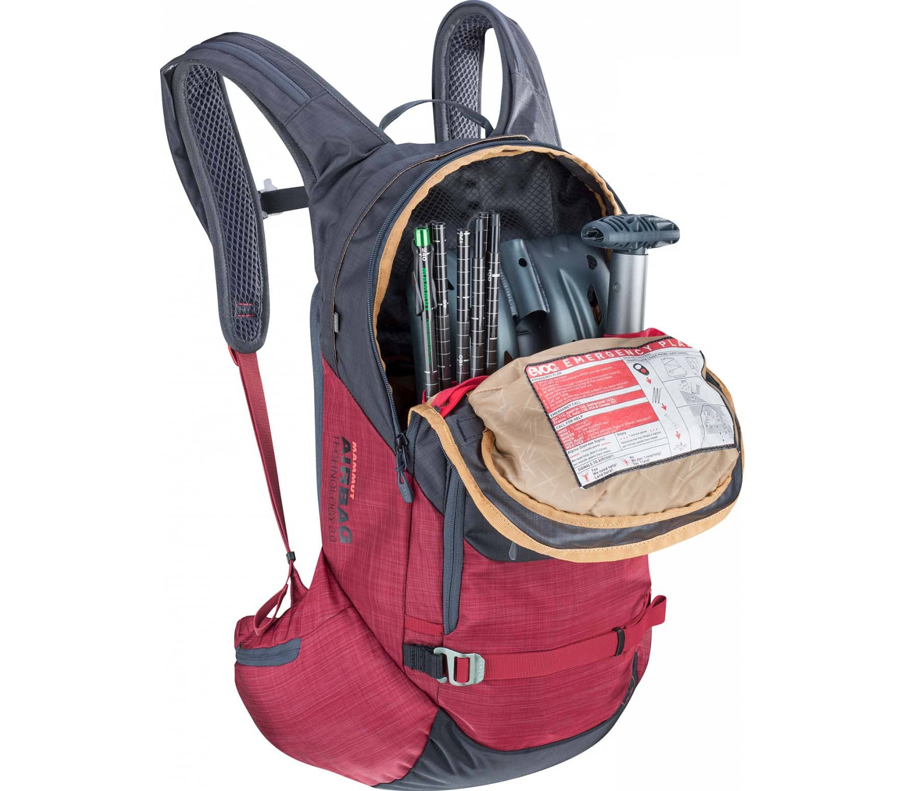 EVOC - Line R.A.S. 20l avalanche backpack (grey)
