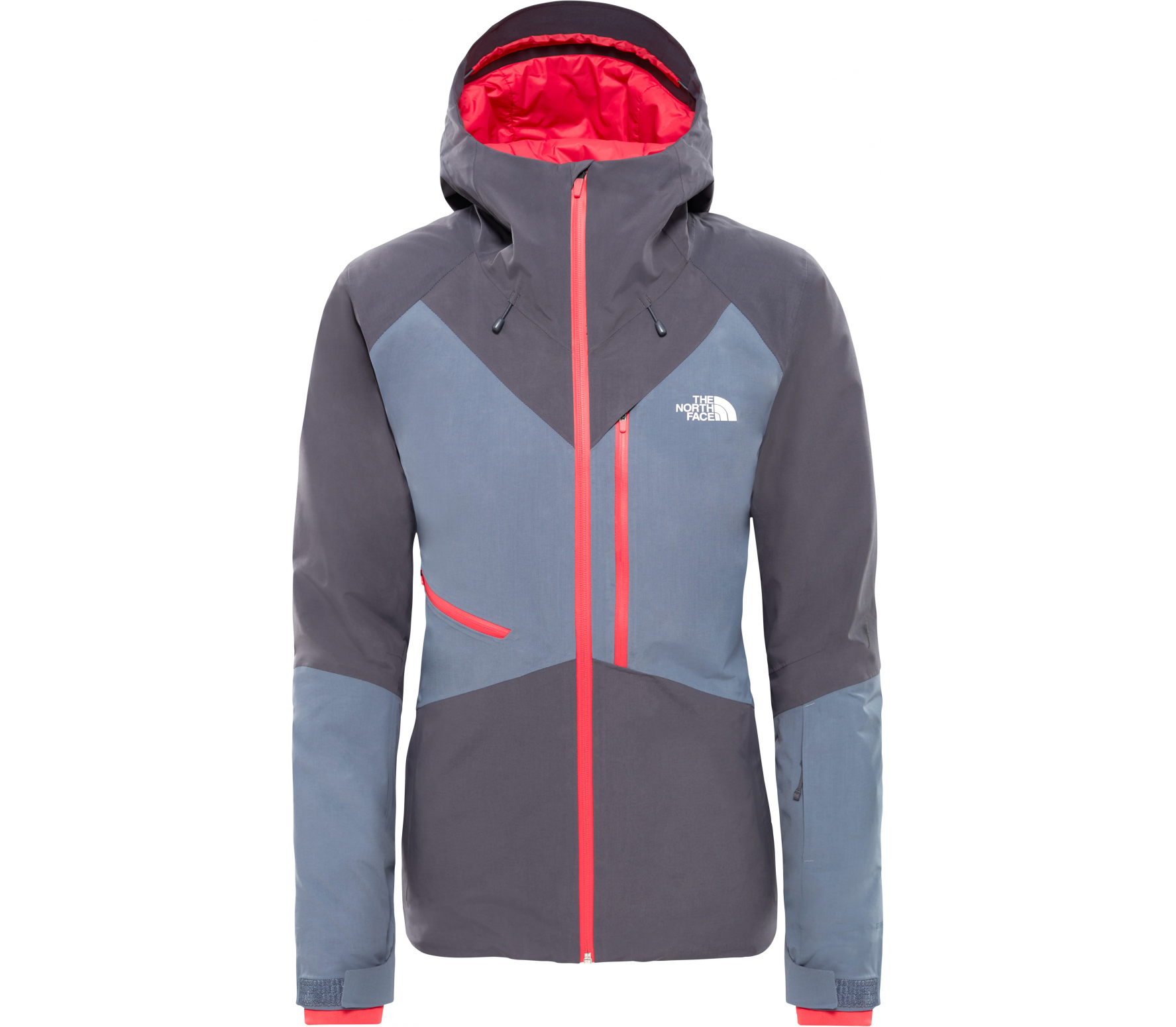 38fa47323c8e73 The North Face - Lostrail Damen Skijacke (grau) im Online Shop von ...