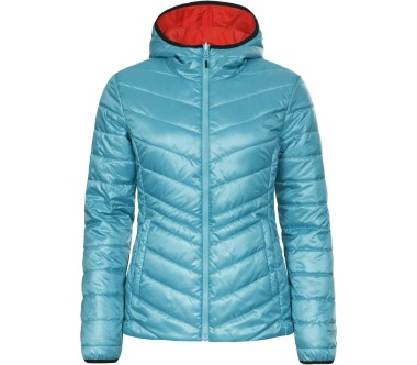 Icepeak - Venja Reversible Stretch Damen Skijacke (orange/blau)
