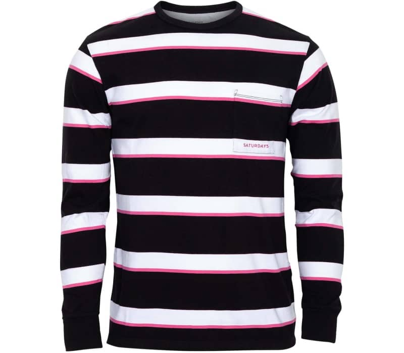 James Stripe Long Sleeve