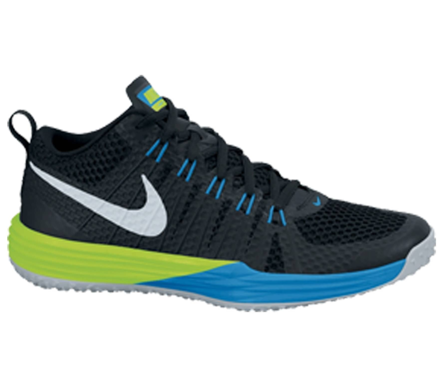 4f8d4de4cce7c Nike - Lunar TR1 men s training shoes (black blue green) - buy it at ...