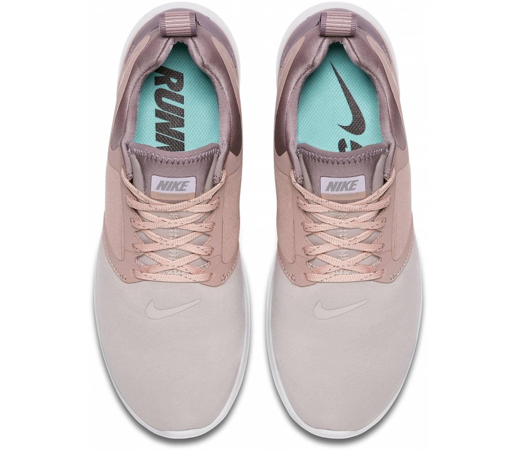 Nike - LunarSolo zapatillas de running para mujer (rosa/marrón topo)