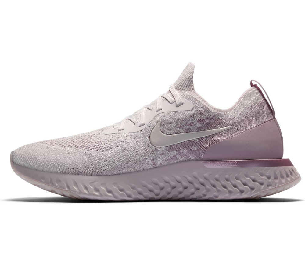 6bc6daf538 Nike - Epic React Flyknit Hommes chaussure de course (rose) acheter ...