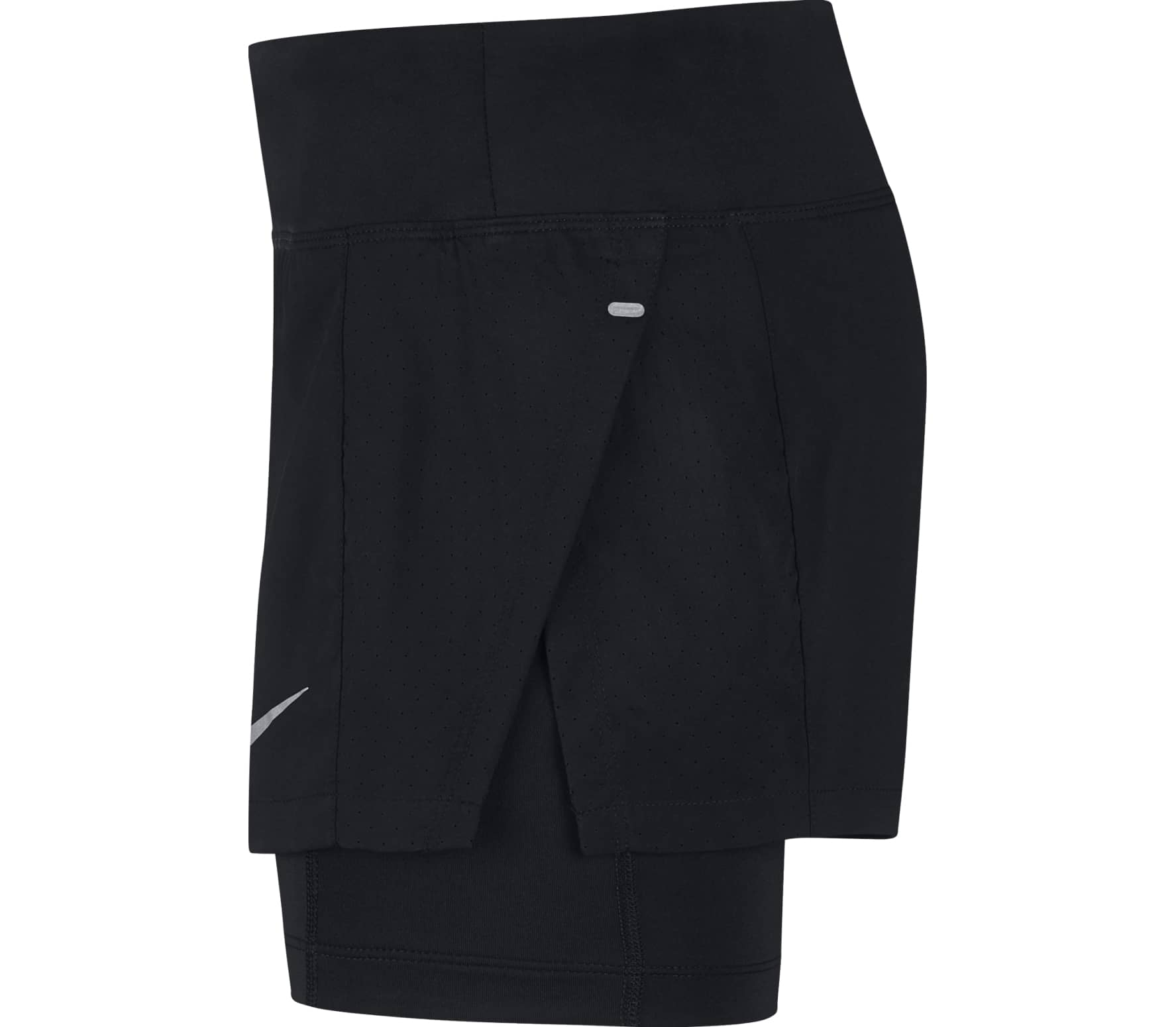 quality design f3442 53082 Nike - Eclipse 2-in-1 womens running shorts (black)