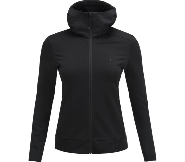Peak Performance - Ace Zip women's hoodie (black)