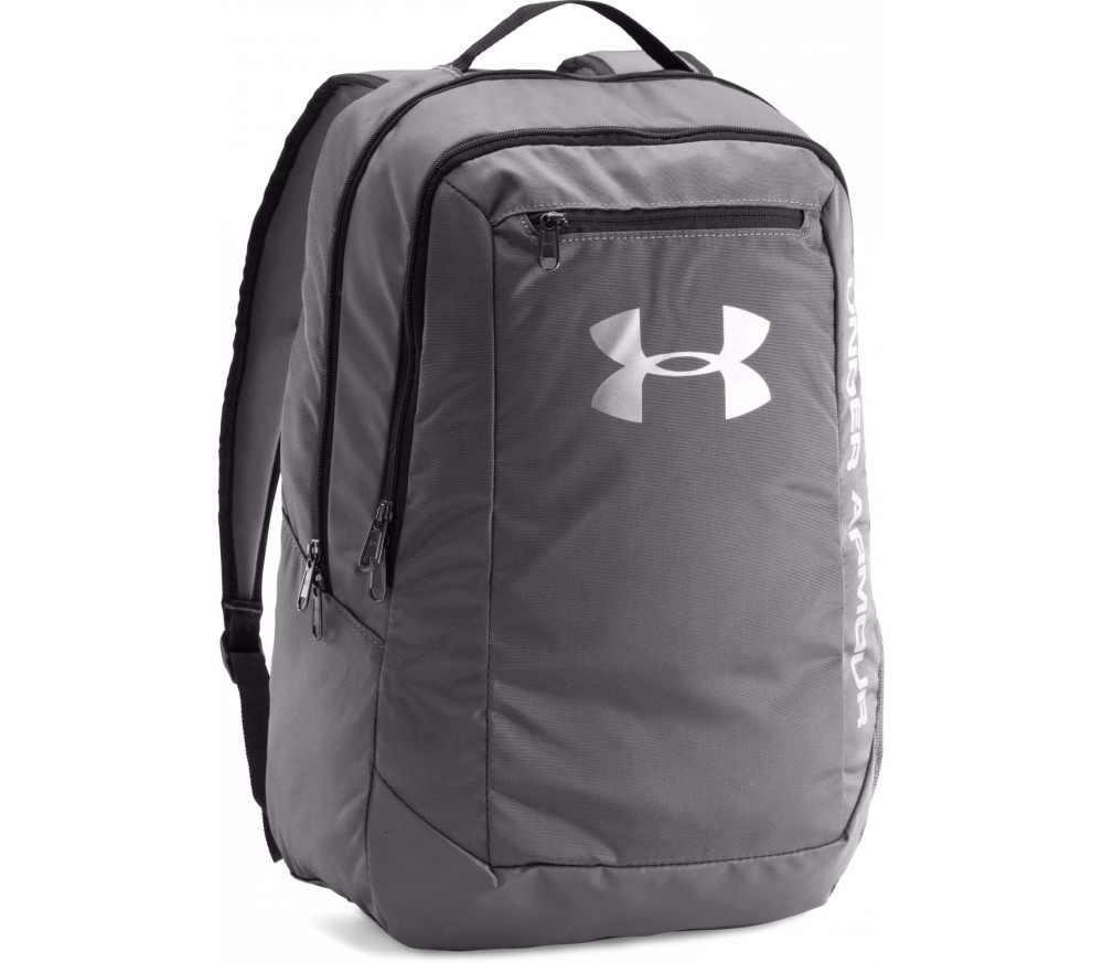 Under Armour - Hustle Backpack Trainingsrucksack (grau)