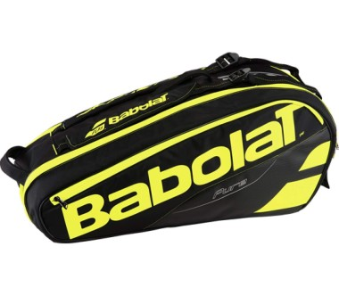 Babolat - Pure Racket Holder X6 Tennistasche (schwarz/gelb)