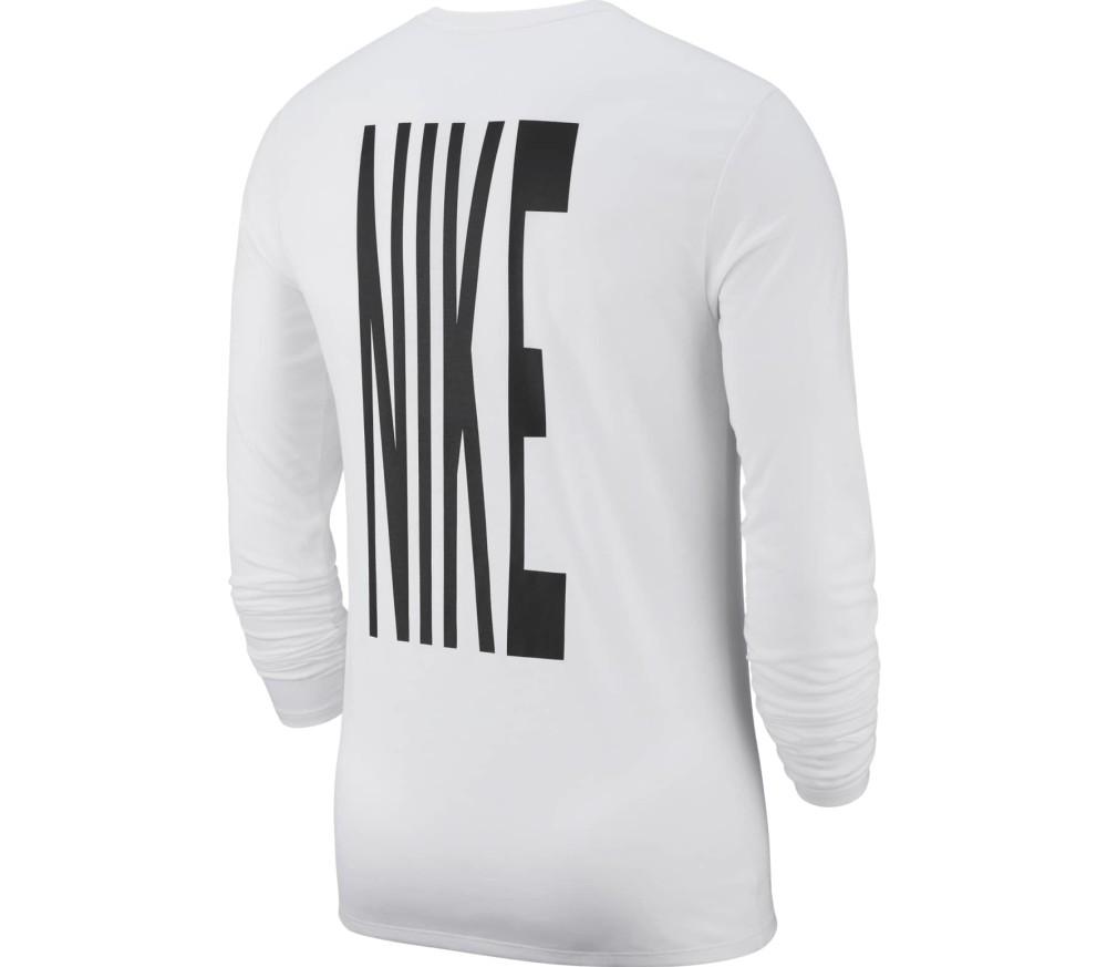 Nike - Dry Herren Laufshirt (weiß)