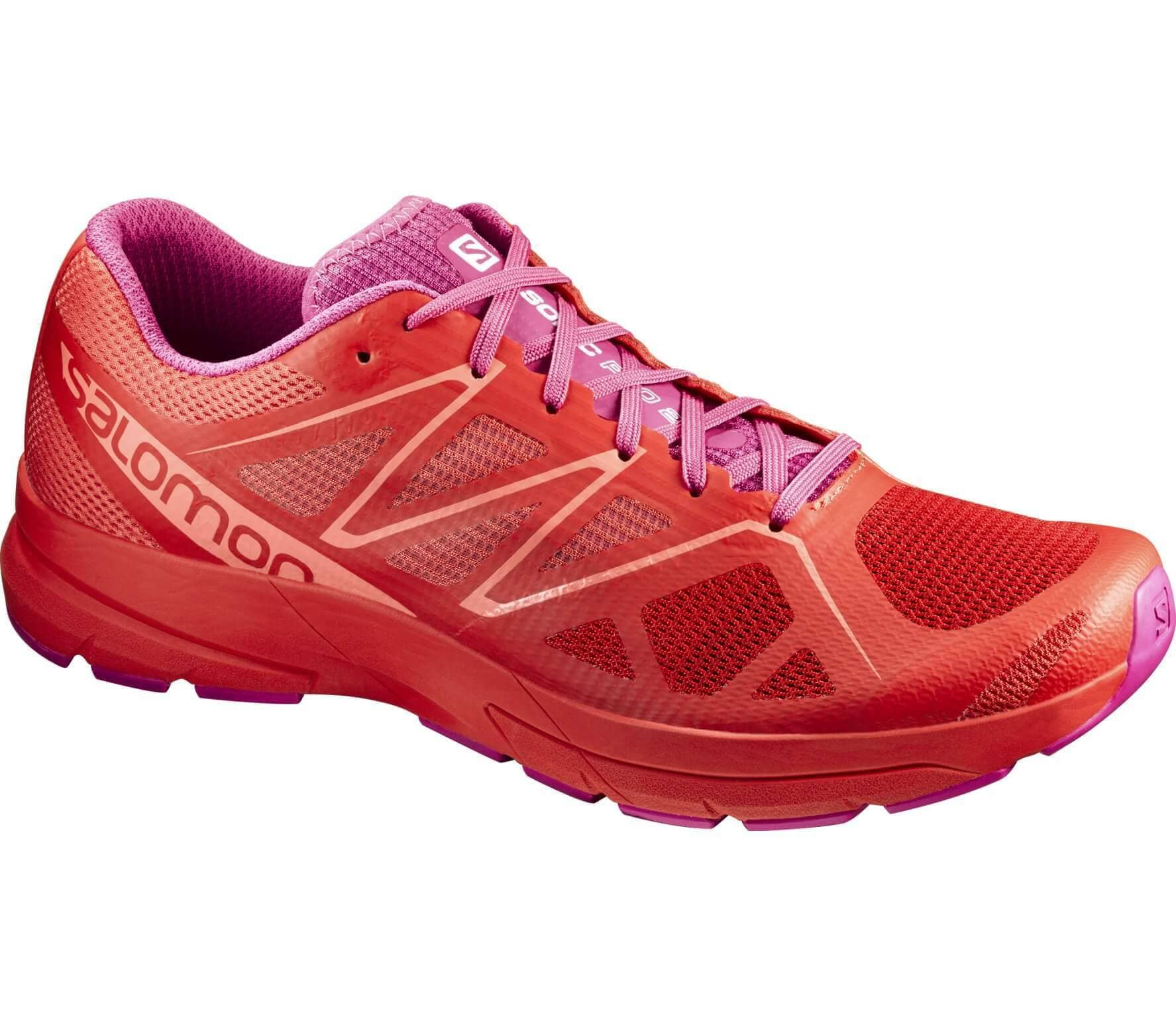 0e274cc42b00 Salomon - Sonic Pro 2 women s running shoes (orange lilac) - buy it ...