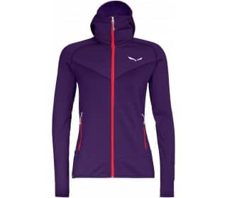 Puez 3 Pl Dames Fleece Capuchontrui