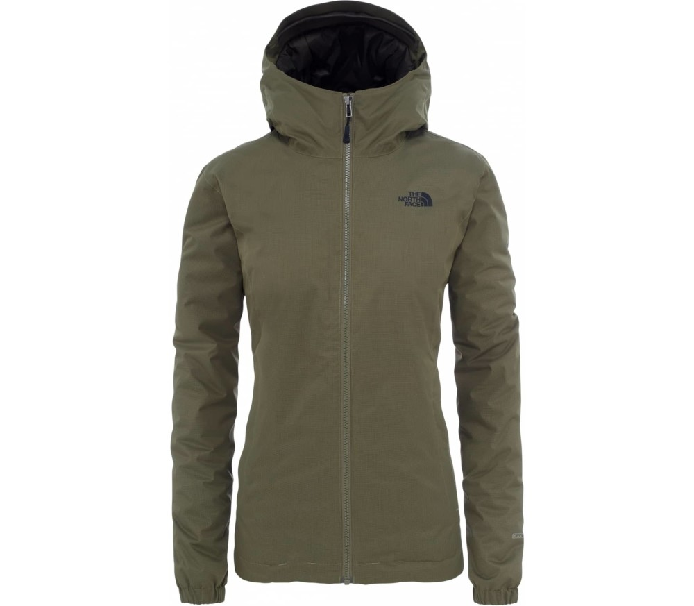 The North Face - Quest Insulated Donna giacca invernale (verde marrone) 8581a8e330ed