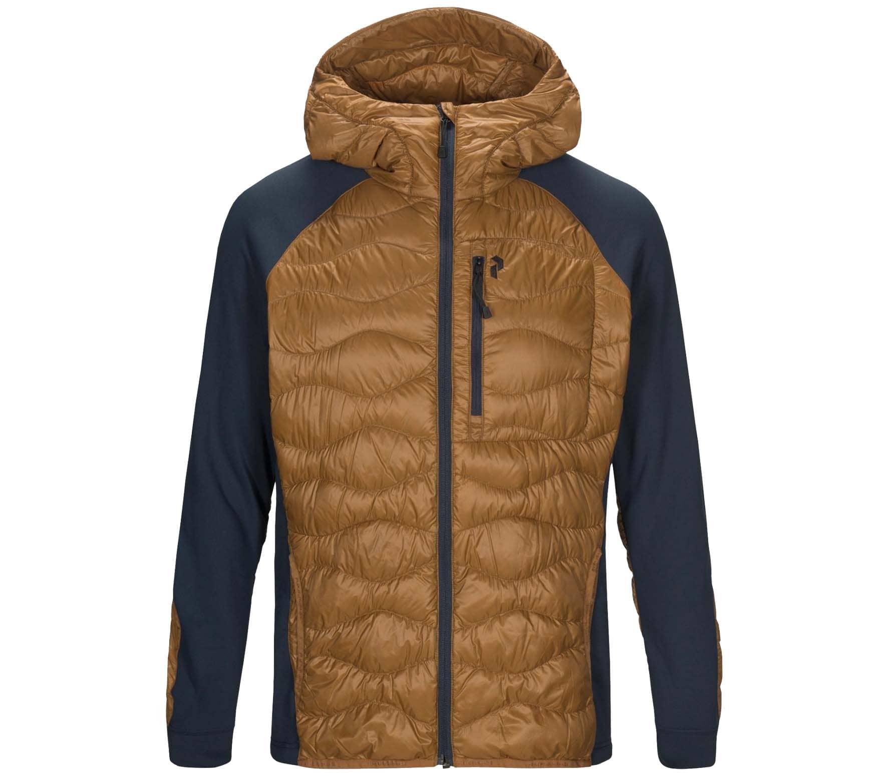 Peak Performance Heliuhybhj Men Hybrid Jacket brown