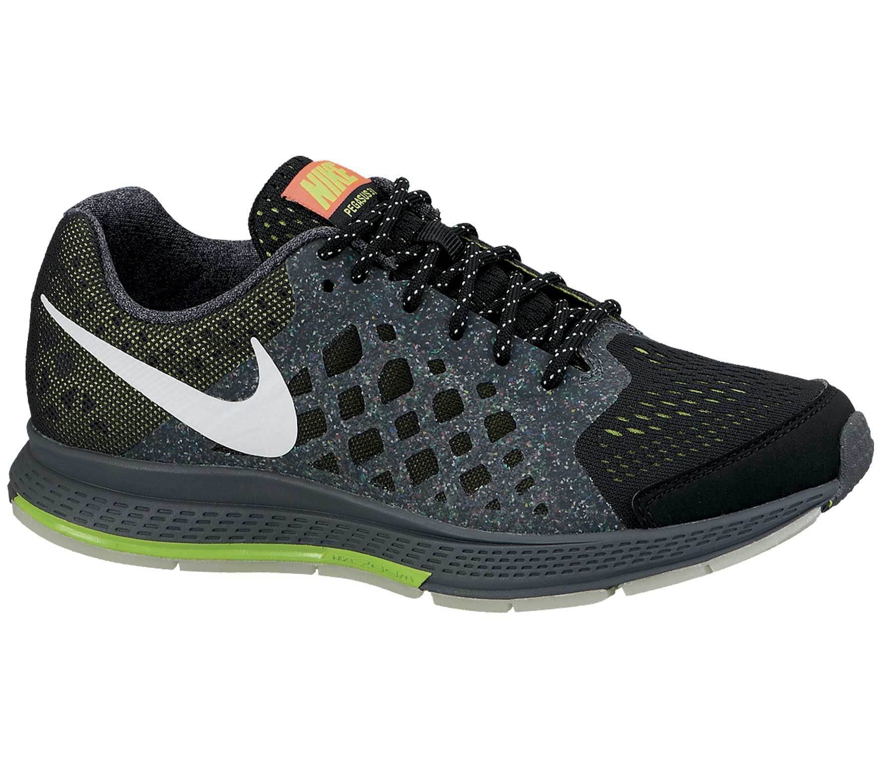 343a2cddd507a Nike - Zoom Pegasus 31 Glow Children running shoes (black grey ...