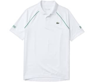 Lacoste Blanc Men Tennis Polo Shirt