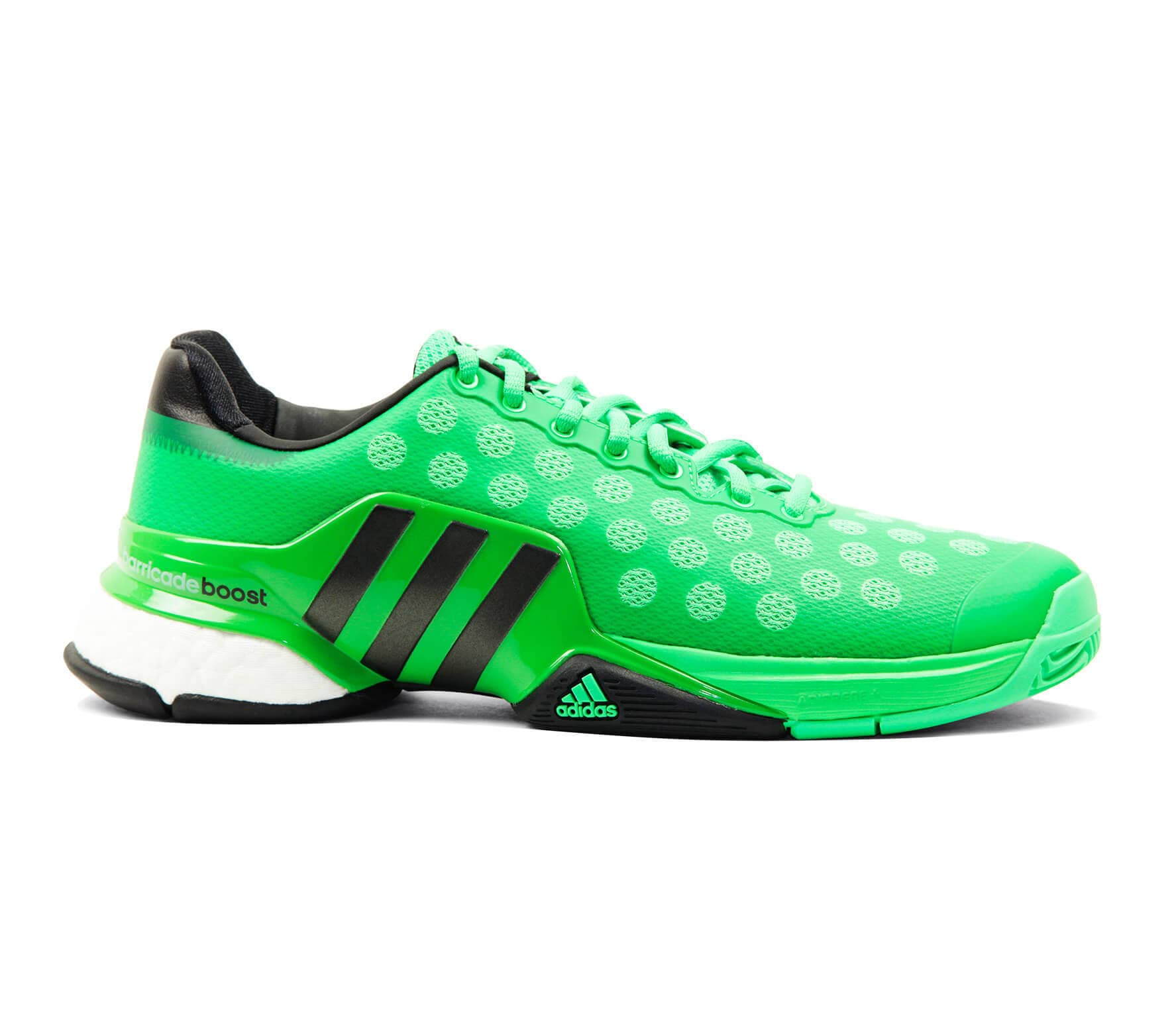 a0bf0e402 Adidas - Barricade 2015 Boost men s tennis shoes (green) - buy it at ...