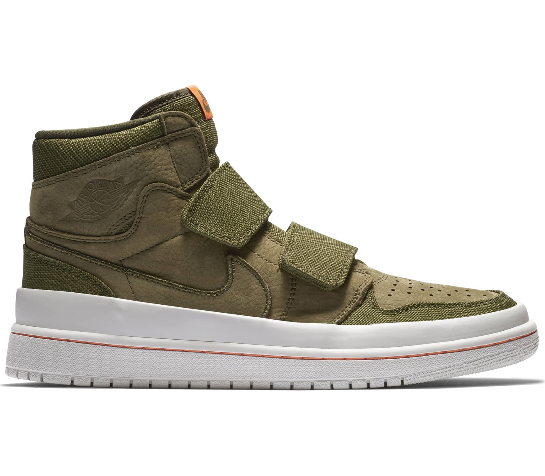 Jordan - Air 1 Retro High Double Strap Herren Sneaker (grün)
