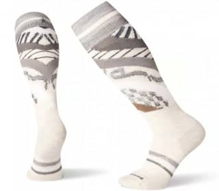PhD Ski Light Pattern Mujer Calcetines de esqui