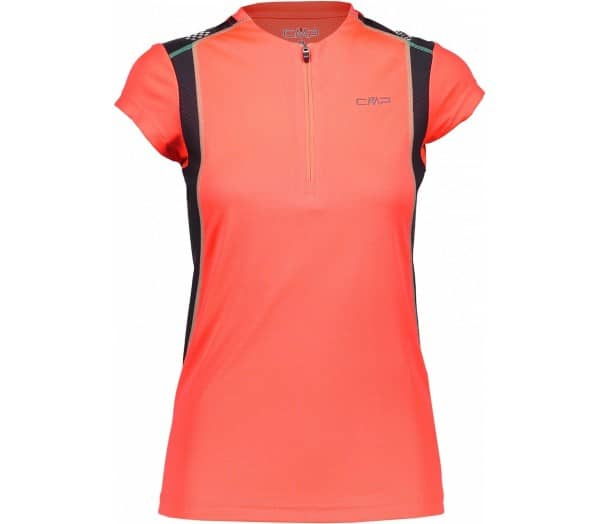 CMP red fluo Damen T-Shirt - 1