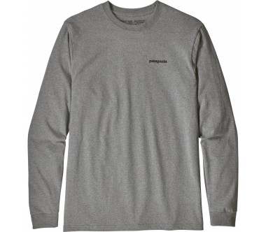 Patagonia - Flying Fish Responsibili men's long-sleeved top (white)